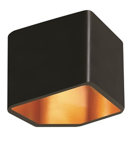 Angular LED Up & Down Wall Light