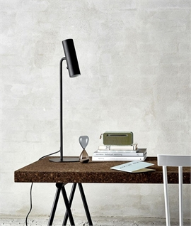 Table Lamp with Adjustable Head & Switched