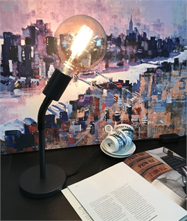 Flexible Stem Tall Touch Dimmable Table Lamp H:455mm