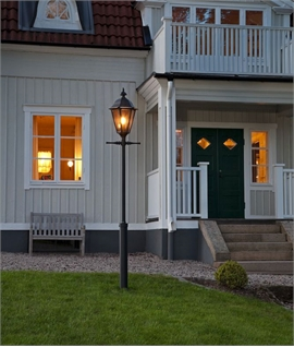 Stylish Exterior Lamp Post - Different Height Options