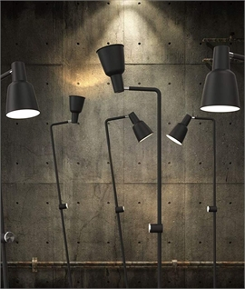 Tilted Adjustable Dimmable Floor Lamp