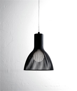 Steel Rod Light Pendant Dia: 170mm or 260mm