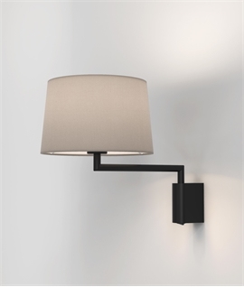 Bracket Swing Arm Bedside Wall Light -Choice of Shade