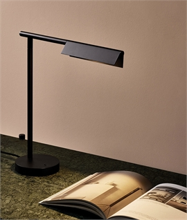Adjustable Head Table Lamp with LED