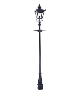 Victorian Scrolled Lamp Post