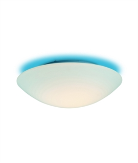 flush opal glass bathroom light flush opal glass bathroom light