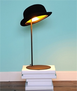 Bowler Hat Table Lamp - Jeeves