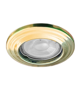 Traditional Style Round Downlight GU10 Base