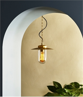Coastal Hanging Porch Light