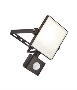 Ultra Slim LED Exterior Floodlight with PIR