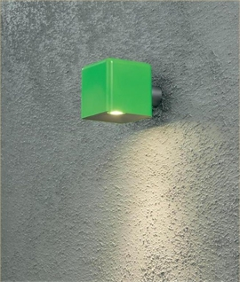 Square LED Exterior Wall Light