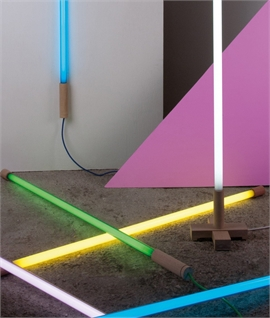 Neon Tube Light for Floor, Wall or Ceiling Mount L:1400mm
