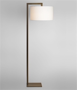 Floor Lamp & Fabric Shades - 3 Options