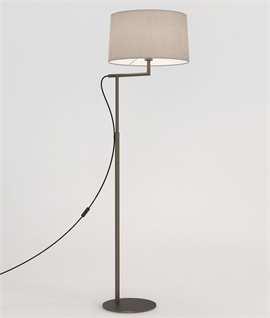 Off-Set Floor Lamp - 3 Finishes & 3 Shades