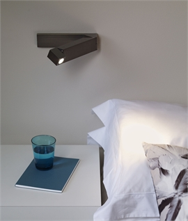 Slim Profile & Pivotal LED Bedside Reading Light