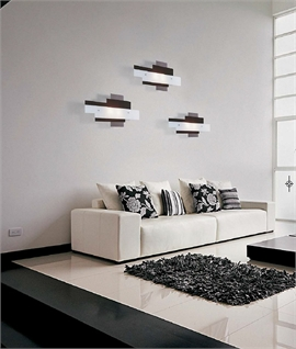 Stylish Irregular Glass Wall Light