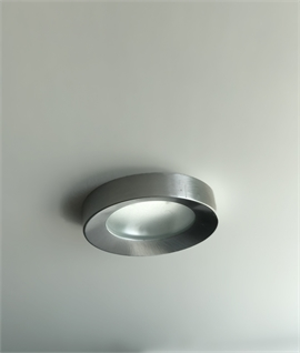 Brushed Aluminum Downlight - IP44 Rated