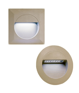 Budget LED Recessed Guide Light - Straight to Mains