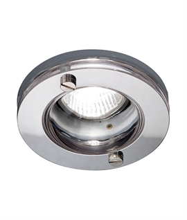 Round Glass Shower Downlight