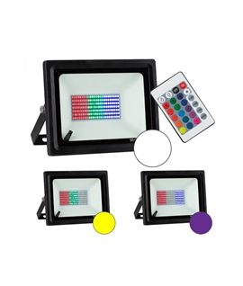 Affordable RGB LED Floodlights with Remote Control