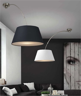 Rotating Extendable Pendant - Wall or Ceiling