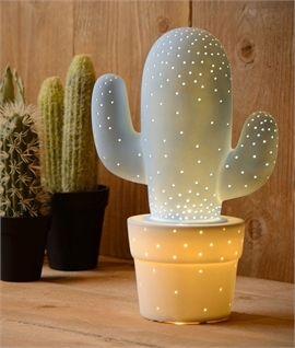 Cactus Ceramic Table Lamp