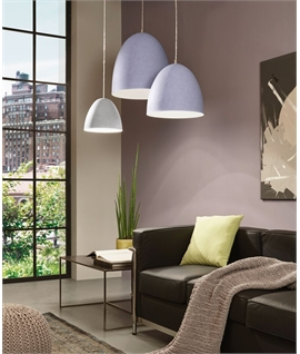 Grey Steel Pendants