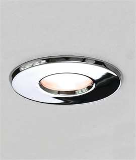 Mains Round Downlight IP65 - 3 Finishes