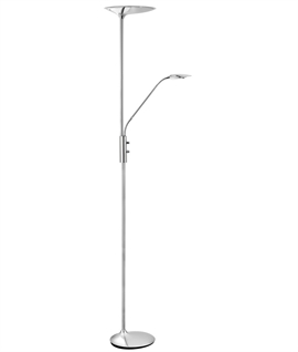 Chrome LED Dimmable Floor Lamp