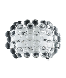 Wall Light with Clear Glass Ball Detail