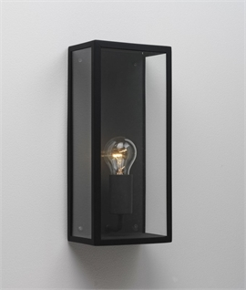 Wall Lantern Replacement Glass : Frosted Glass Ext Wall Light H:250mm