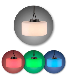 Colour Changing Outdoor Pendant - Rechargeable