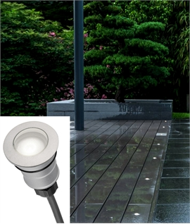 Smart Round LED Ground Light - IP67