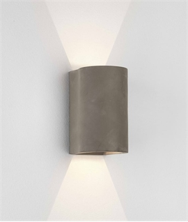 Concrete Up & Down LED Wall Light
