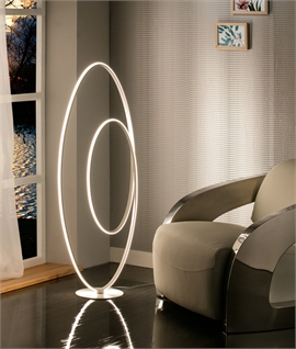 LED Continuous Loop Floor Lamp