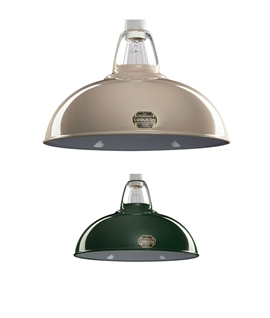 Coolicon Enamel Steel Lamp Shades - Earth Colours