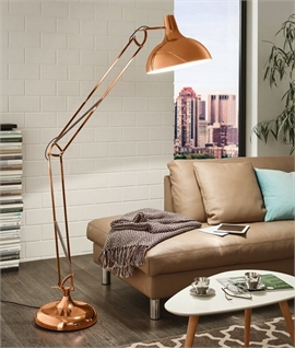 Large Adjustable Floor Lamp