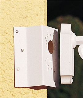 Corner Bracket in White or Black Finish