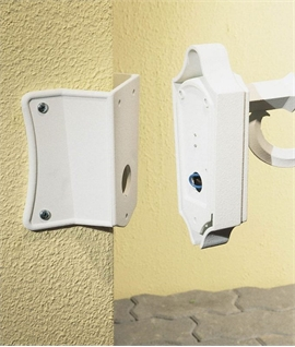 Corner Bracket for Exterior Lantern Mounting