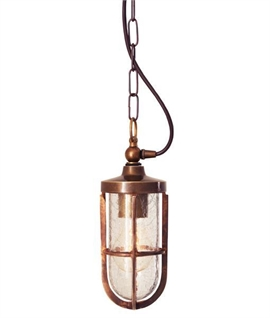 Porch Lantern with Chain - 4 Finishes IP44 Rated