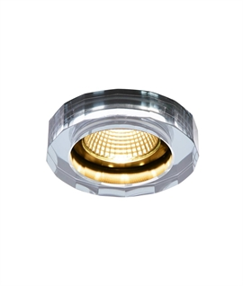 Crystal-Styled LED Recessed Downlight