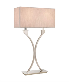 Table Lamps with Fabric Shades | Lighting Styles