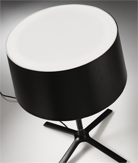 Large Lounge Table Lamp - White or Black Shade