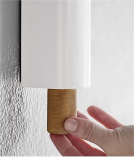 Dimmable Adjustable & Switched Wall Light