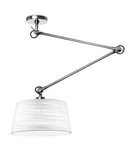 Long Reach Wall or Ceiling Light with Shade