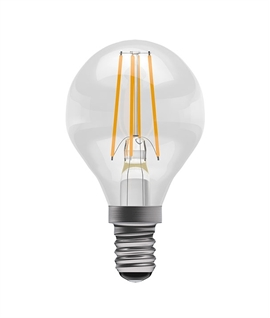 E14 Golf Ball LED Filament Lamp - 4 watts