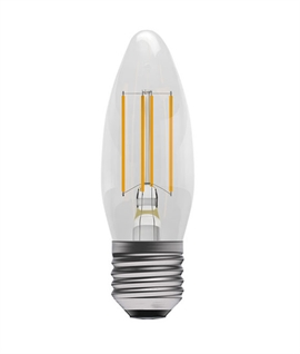 E27 4w LED Filament Clear Candle Lamp