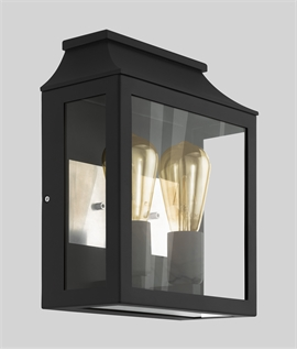 Double Lamp Exterior Box Lantern