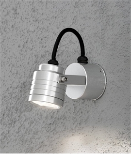 Adjustable Head LED Garden Wall Light