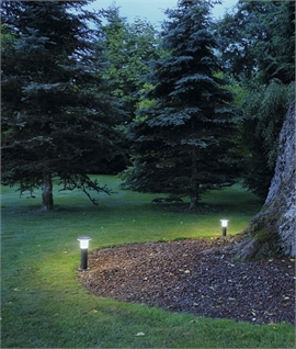 Disc Shaped Low Glare Bollard Light